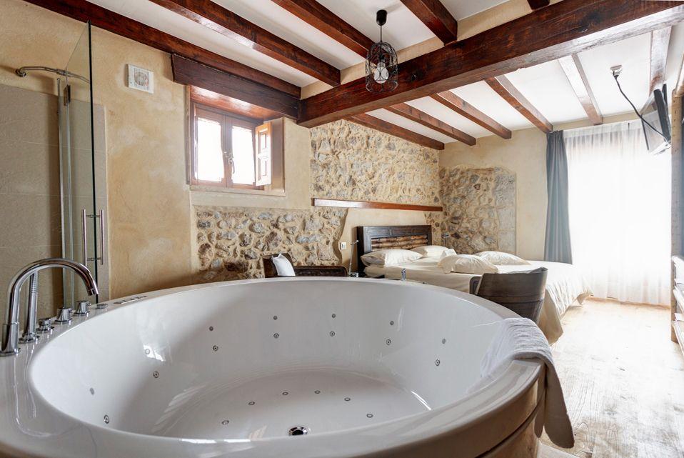 Hoteles con jacuzzi cantabria la posada de somo casa - Escapadas romanticas jacuzzi habitacion ...